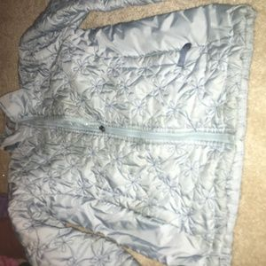quilted north face jacket